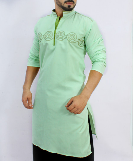 Aqua Green Stylish Kurta ARK-826