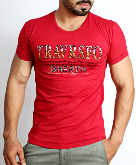 Red Dherto Logo T-Shirt NG-214