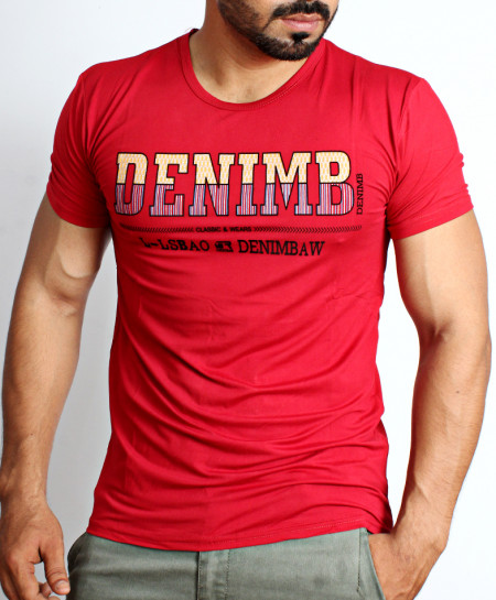 Red Deni Logo T-Shirt NG-215