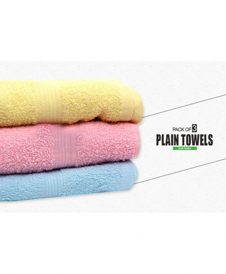 Pack Of 3 Bath Towel AF-176