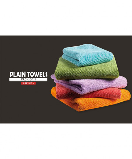 Pack Of 5 Bath Towel AF-177