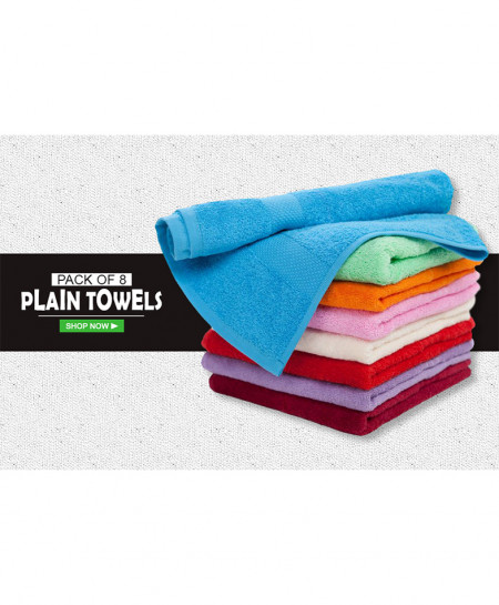 Pack Of 8 Bath Towel AF-178