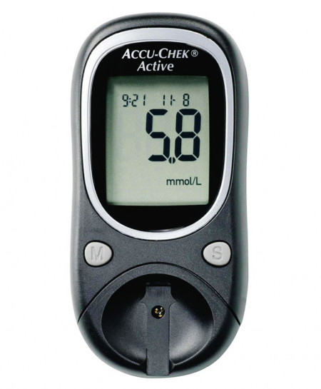 Accu Chek Active Meter Blood Glucose Monitoring System