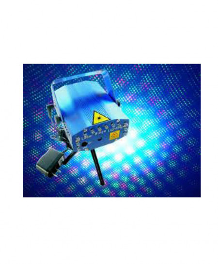 LED Mini Stage Light Laser Projector OM-5162