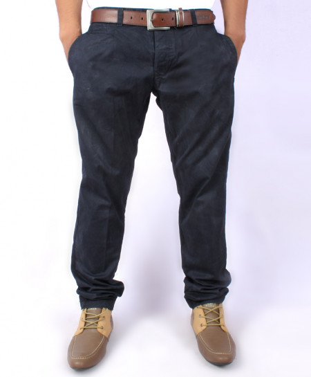 Navy Blue Mens Chino Pants MPT-215
