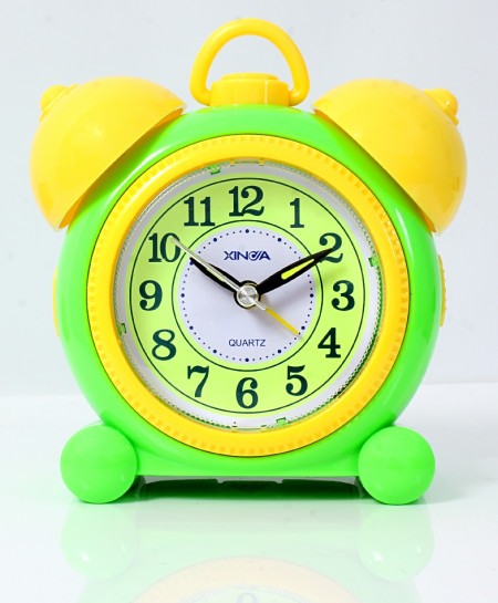 Yellow Green Pearl Alarm Clock TC-727