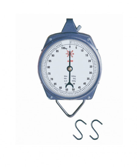 100kg Mechnical Fishing Hanging Scale OM-5197