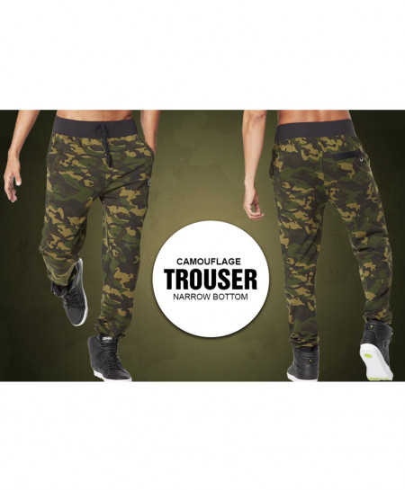 Camouflage Narrow Bottom Style Trouser CT-3538