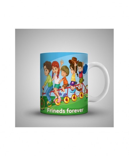2X Kids Friends Forever Printed Mug WH-0510