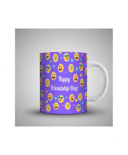 2X Funny Friendship Day Printed Mug WH-0514