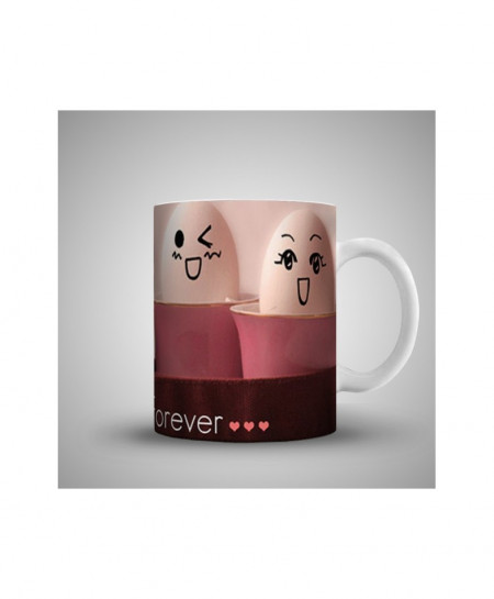 2X Friends Forever Printed Mug WH-0516