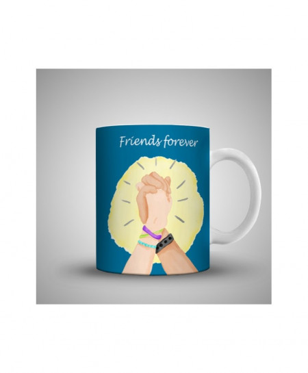 2X Close Friends Forever Printed Mug WH-0519