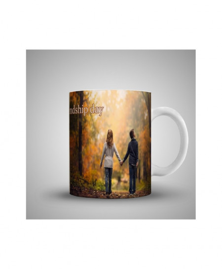 2X ALONE FRIENDS PRINTED MUG WH-0522