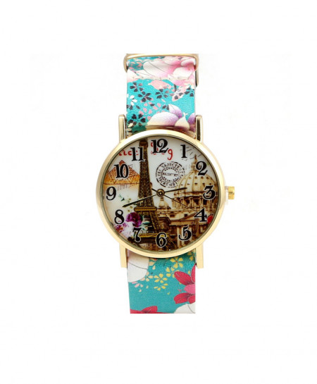 Stylish Eifel Tower Ladies Watch AM-225