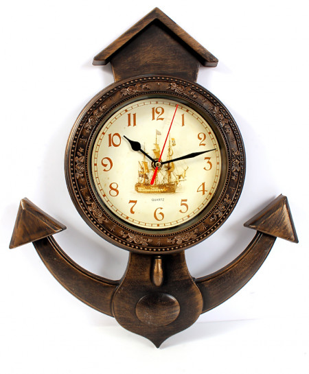 Luster Anchor Style Wall Clock WC-740