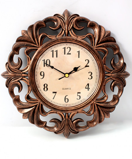 Brown Antique Design Stylish Wall Clock WC-742