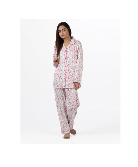 Espico International Pink Cotton Nightsuit