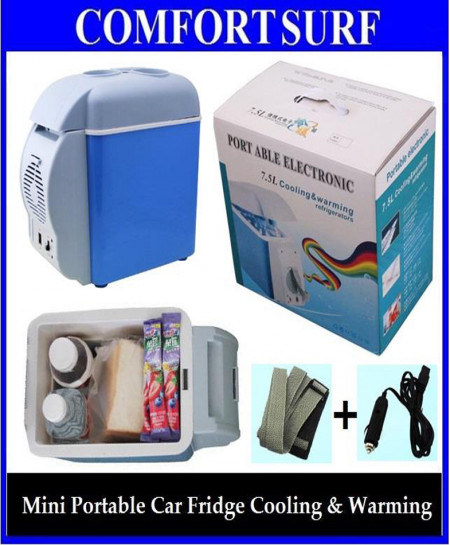 Portable Electronic 2 In 1 Cooling And Warming Refrigerator