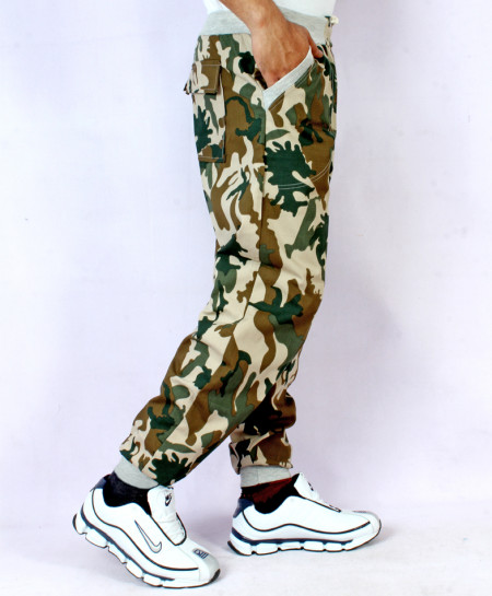 Army Camouflage Cotton Stylish Trouser