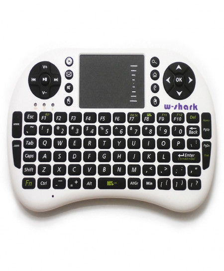Mini Touch Pad Wireless Keyboard Mouse 500 RF