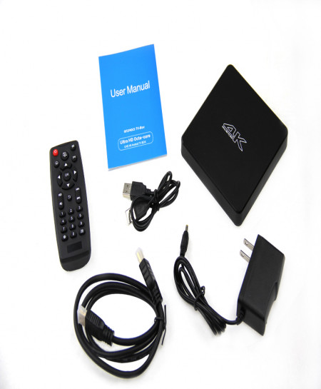 Android Smart Tv Box Octa Core 4k T502