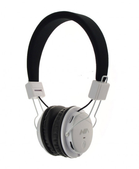 NIA X2 Bluetooth Wireless White Headphone CZ-29