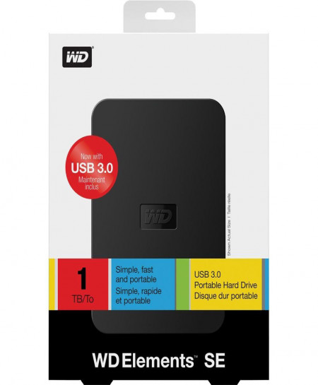 WD HDD Hard Disk 2.5 Inch Case Usb 3.0 CZ-208