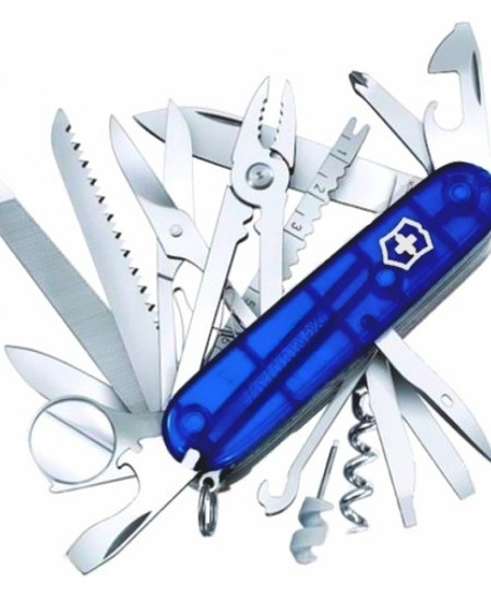 Victorinox Swiss Champ Translucent Blue 1.6795.T2