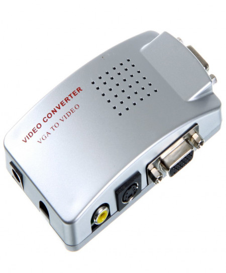 VGA To Audio Video Conversion Stylish Box