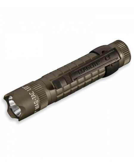 MAGLITE Green Magtac 2-Cell CR123 Crowned Bezel LED