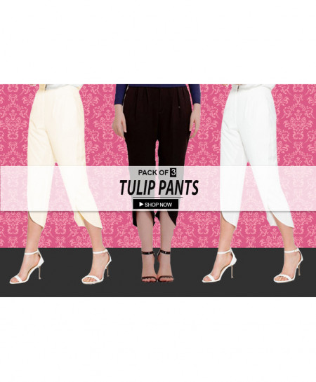 Pack Of 3 Tulip Pants TP-2342