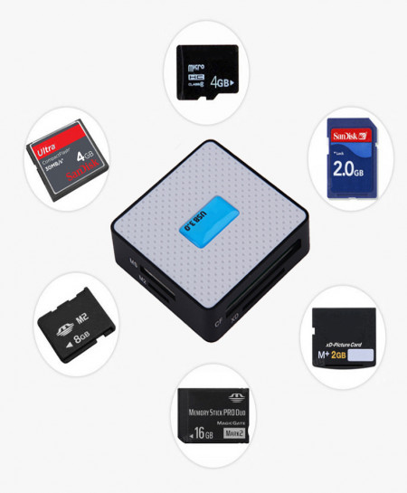 Multi Port Card Reader 3.0