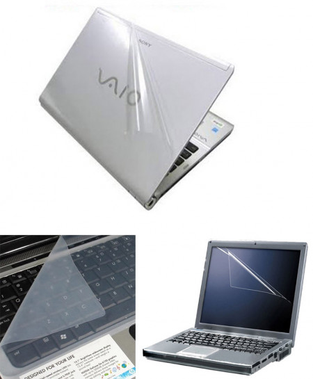 Laptop Skin Protector 3 in 1 15.6 Inch