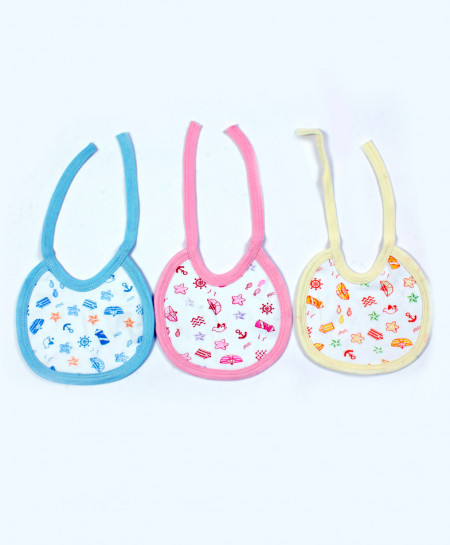 Pack Of 6 Baby Small Stylish Bib