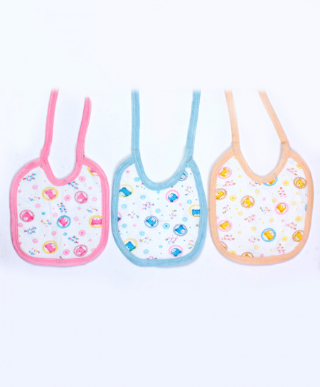 Pack Of 3 Printed Bib