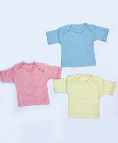 Pack Of 3 Baby Plain Shirts