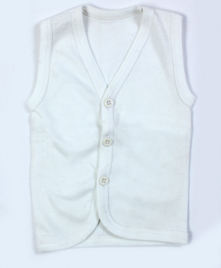 Pack Of 3 Baby White Vests