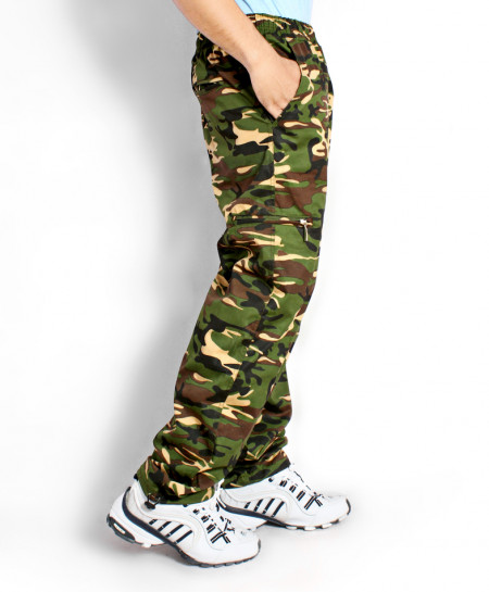Camouflage 6 Pocket Stylish Cotton Trouser QZS-072