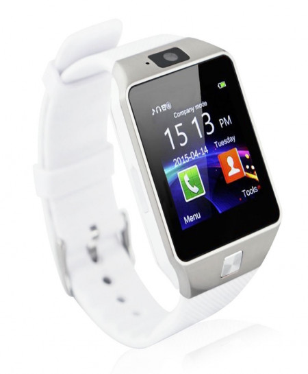 Android Bluetooth IOS With Gsm Smart Watch DZ09 White