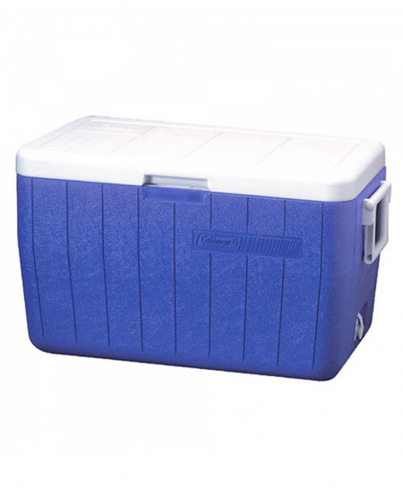 Coleman 48 Quart Cooler Blue
