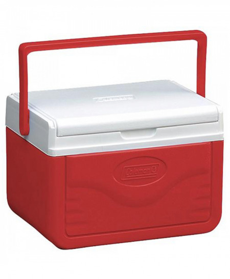 Coleman 5 Quart Fliplid Cooler Red