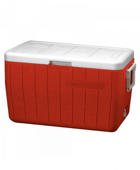 Coleman 48 Quart Cooler Red
