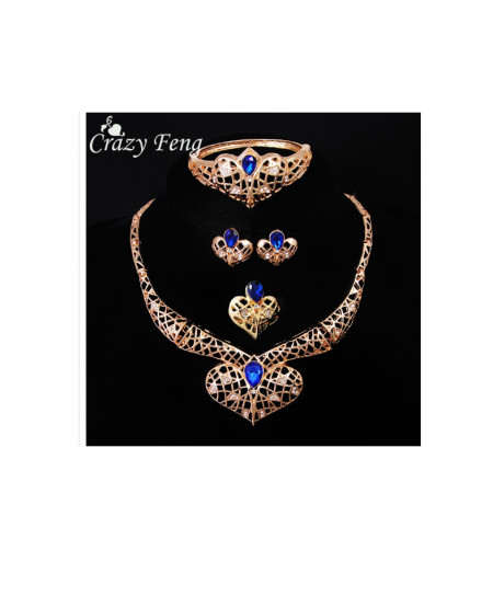 Gold Plated New Bridal Jewellery Set AM-240