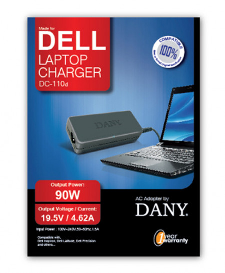 Dell Laptop Charger DC-110A 90W