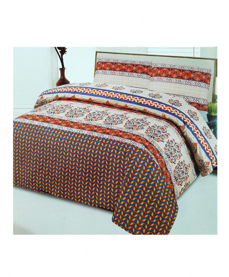 Multi Color Floral Style Cotton Bedsheet SY-333