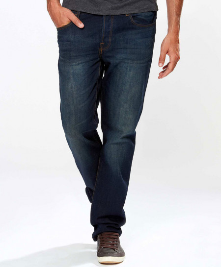 Blue Stylish Unstretchy Jeans FW-02