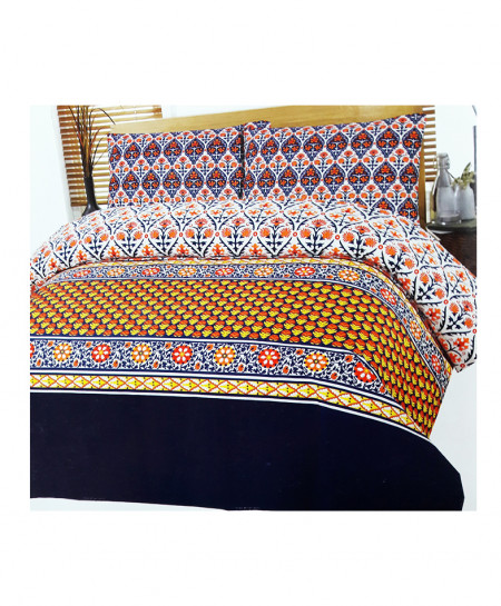 Multi Color New Style Cotton Bedsheet SY-363