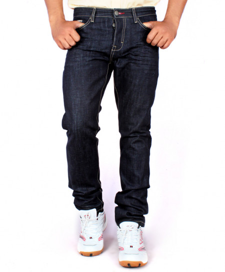 Blue Regular Fit Jeans FW-01