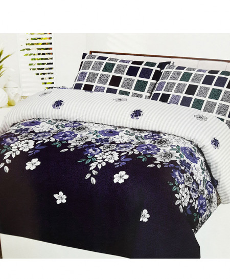 Multi Color Floral Style Cotton Bedsheet SY-368
