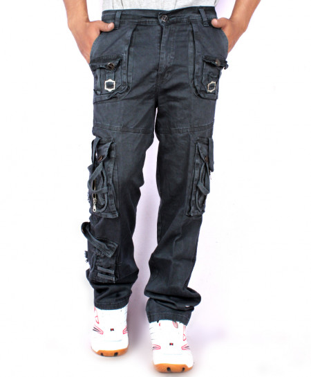 Charcoal 7 Pockets Stylish Trouser